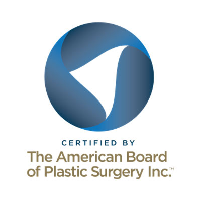 Certified by The American Board of Plastic Surgery logo